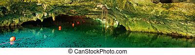 Grand Cenote in Mexico.
