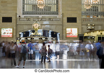 Grand central station - Interior of the Grand central...