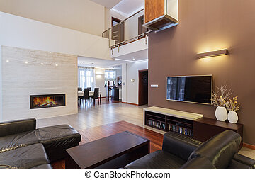 Grand design - living room - Grand design - cosy living room...