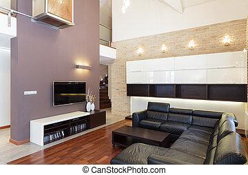 Grand design - Living room in modern style
