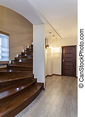 Grand design - Wooden stairs