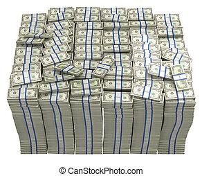 grand, dollars, treasury., paquet, nous