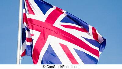 grand, drapeau, grande-bretagne, état