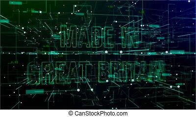 grand, espace, texte, britain', en mouvement, numérique, '...