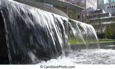 grand, fontaine eau