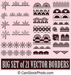 grand, frontières, ensemble