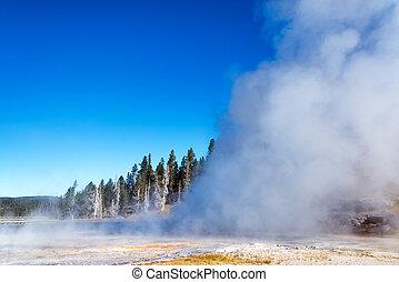 Grand Geyser Eruption