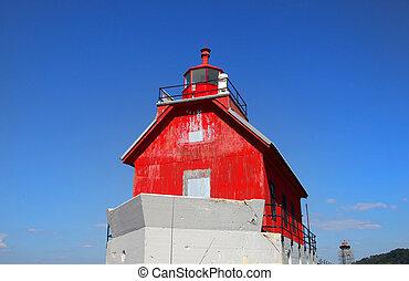 Grand haven Michigan light house