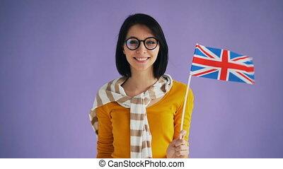 grand, lent, grande-bretagne, britannique, mouvement, ...