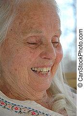 grand-mère, humour, grand