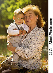 grand-mère, neveu