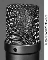 grand, microphone, studio, vocal