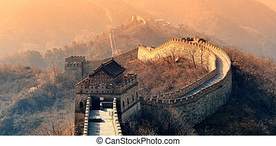 grand mur, matin