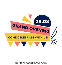 Grand opening, come celebrate with us on 25 August