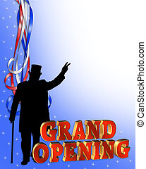 Grand Opening Party invitation