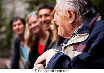 grand-père, histoires