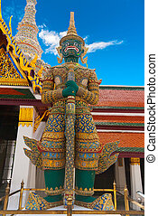 Grand palace Guardian, Bangkok