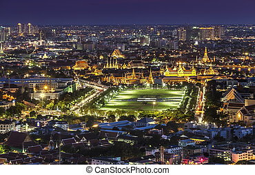 Grand Palace, Wat Phra Kaew, Bankok - Bangkok is the capital...