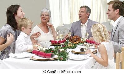 Grand parents visting for Christmas - Joyous Christmas...