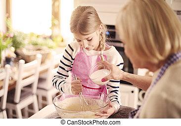 grand, peu, boulanger, fonctionnement, cuisine