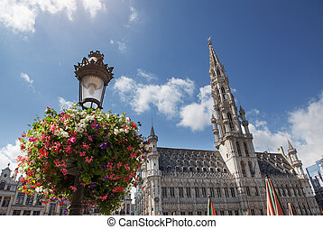 Grand Place, Brussels, Belgium - Grand Place in Brussels,...