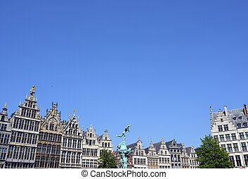 Grand place in Antwerp
