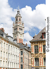 Grand Place Lille - The Grand Place of Lille in France