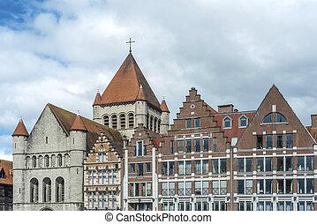 Grand Place of Tournai in Belgium - Grand Place of Tournai, ...