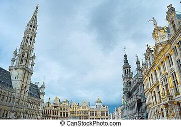 Grand Place square Brussels. Belgium