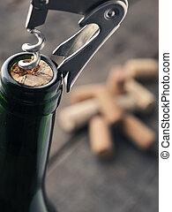 grand plan, bouteille, vin