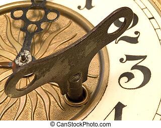 grand plan, horloge