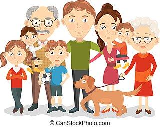 Clipart Famille clip art et illustrations de portrait famille. 14 020 graphiques
