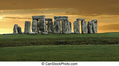 grand, royaume, stonehenge, uni, panorama