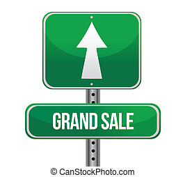 Grand Sale just ahead sign