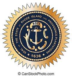 Grand Seal of Rhode Island