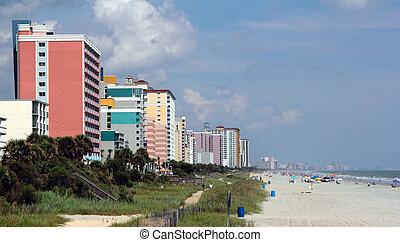 Myrtle Beach, South Carolinas Grand Strand beaches and Hotels
