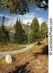 Grand Teton Freedom Path