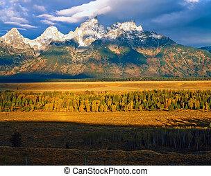 Grand Teton in Wyoming