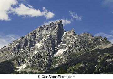 Grand Teton Mountain Peak