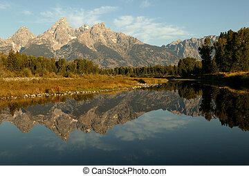 Grand Teton Reflective View