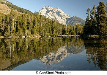 Grand Teton Wilderness Reflective