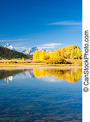 Grand Tetons in Fall