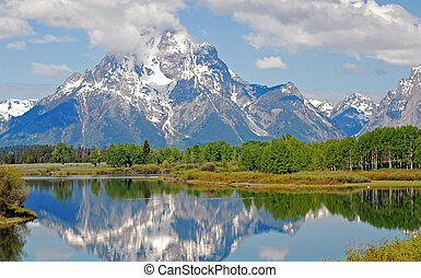 Grand Tetons National Park in Wyoming.