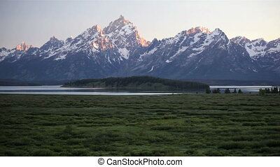 Grand Tetons, Time Lapse