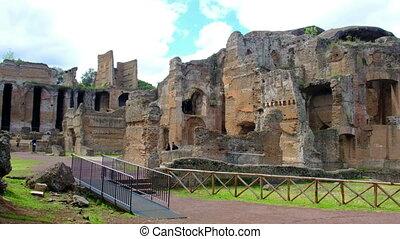 Grand Thermae or Grandi Terme of Villa Adriana or Hadrians...