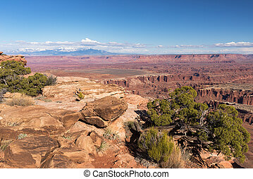 Grand View Point Overlook - Canyonlands National Park, Utah