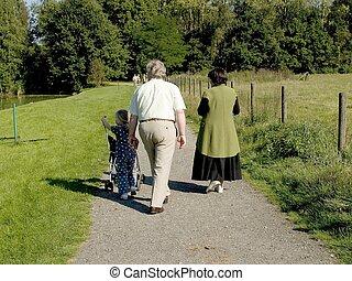 grandchild., 祖父母