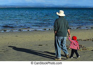 Granddad and Grandchild
