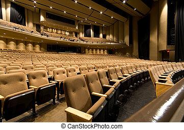 grande, auditório