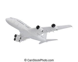 grande, avión